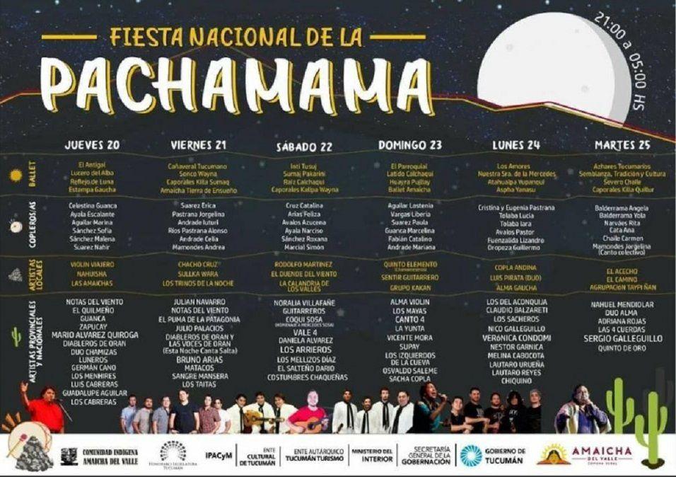 Amaicha vibra con la Fiesta de la Pachamama