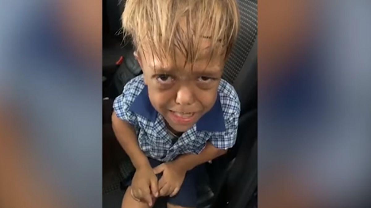 El estremecedor video de un niño de 9 años que sufre bullying