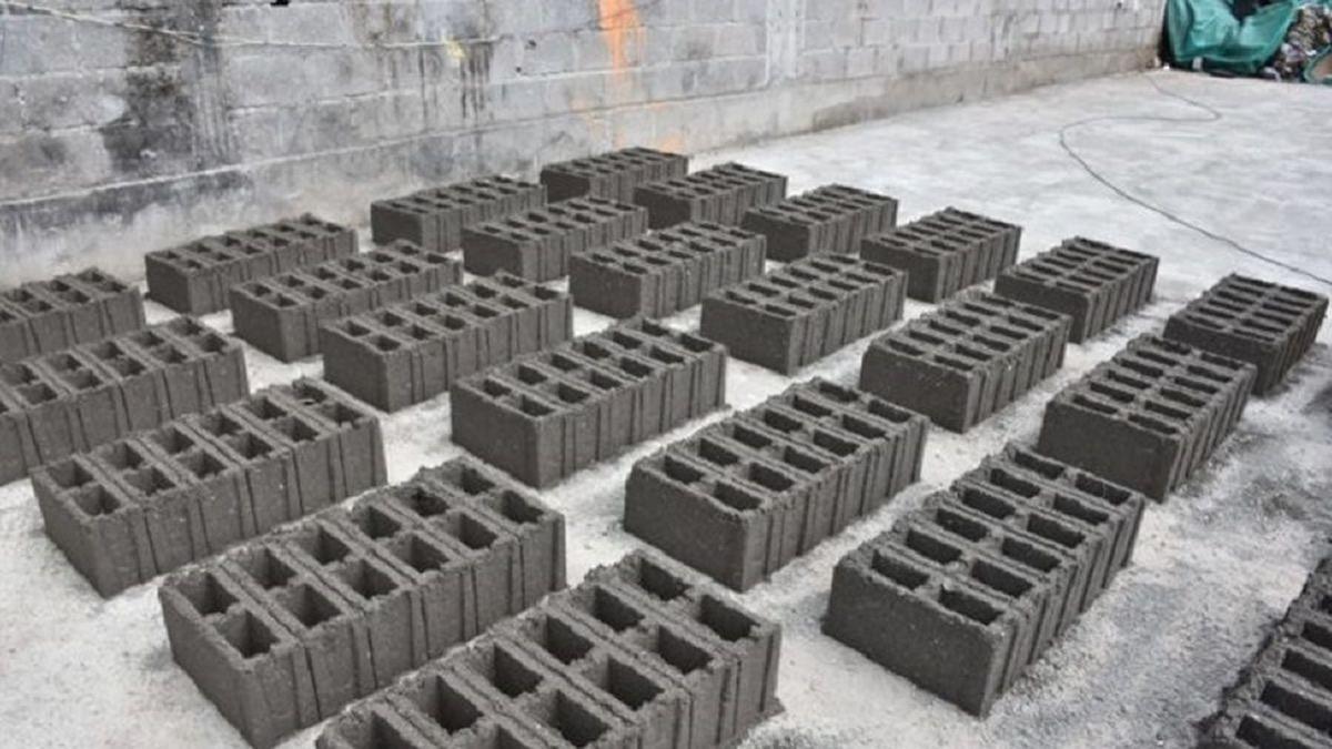 Convierten residuos secos en materiales para construcción