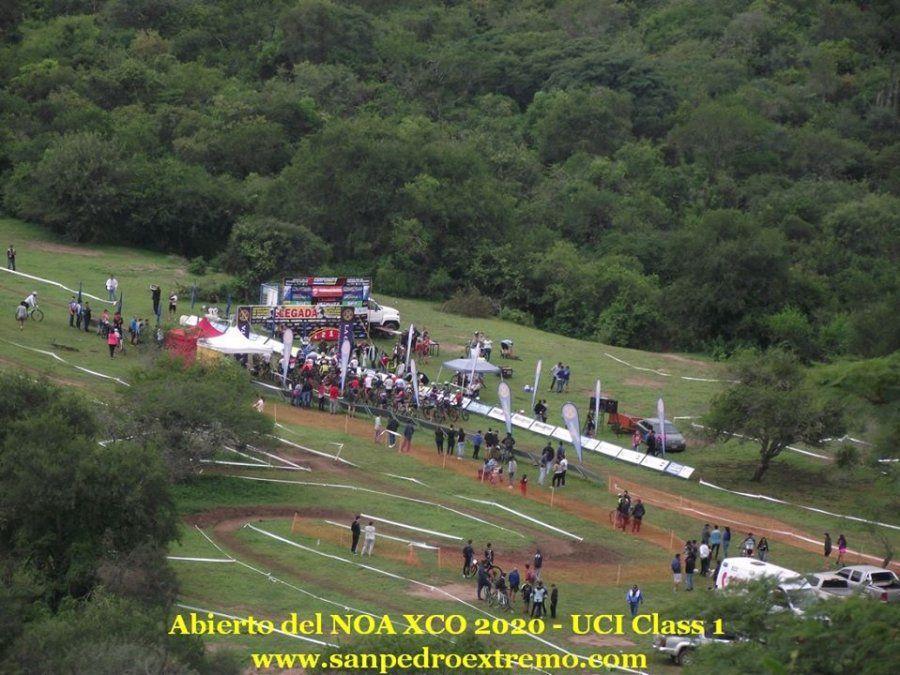 Catriel Soto dominó el circuito de San Pedro de Colalao