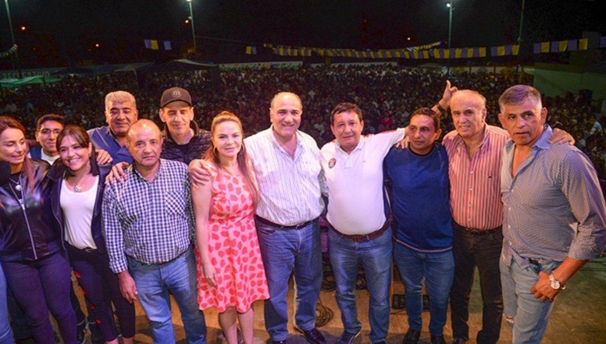 Manzur celebró ante unas 10 mil personas en Banda del Río Salí