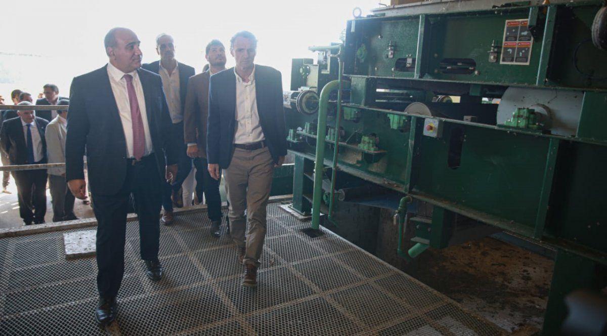 Katopodis se comprometió a poner en marcha la planta cloacal de Las Talitas