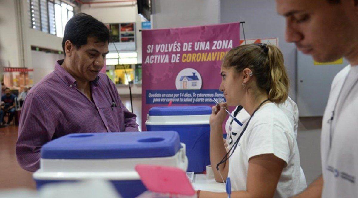 Coronavirus: Brindan información y recomendaciones en el aeropuerto