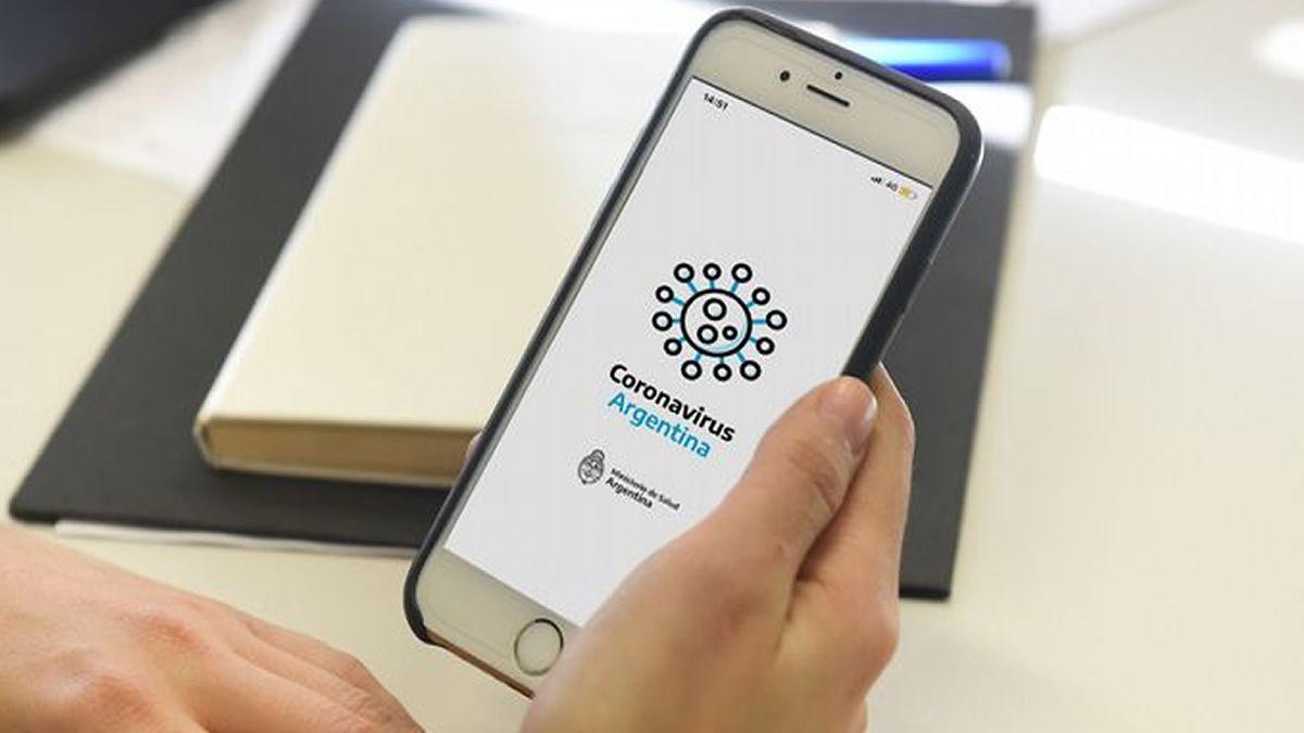 Autotest de coronavirus, lanzaron una app oficial
