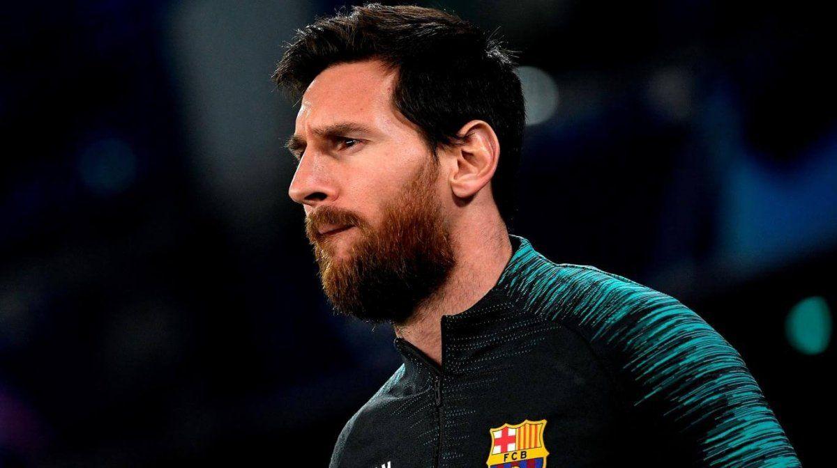 Messi realizó una donación millonaria.
