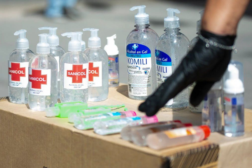 Aumentan las denuncias por el precio del alcohol en gel
