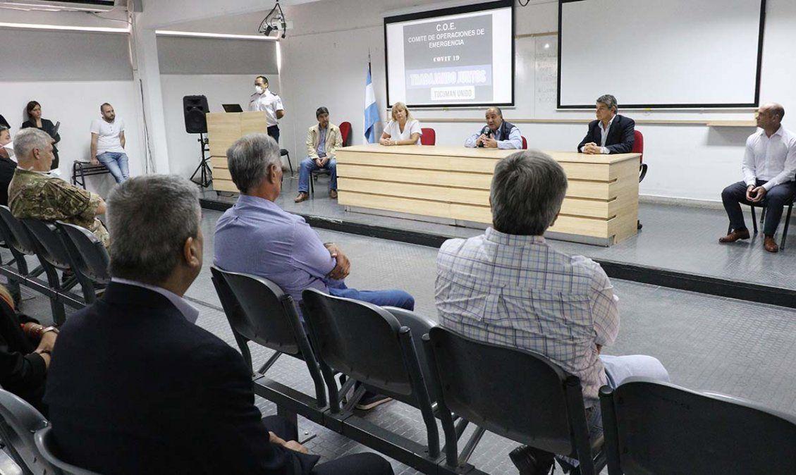 Manzur lanzó el Comité de Operaciones de Emergencia