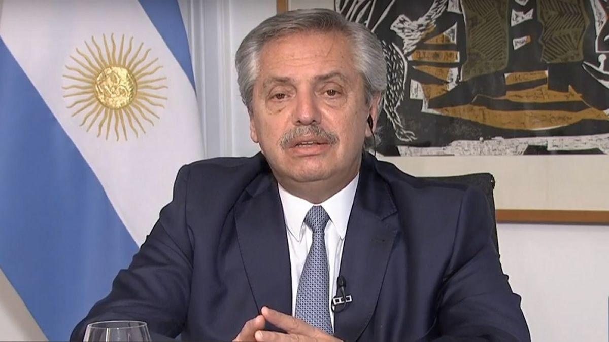 Alberto Fernández aseguró que nadie está exento de este virus