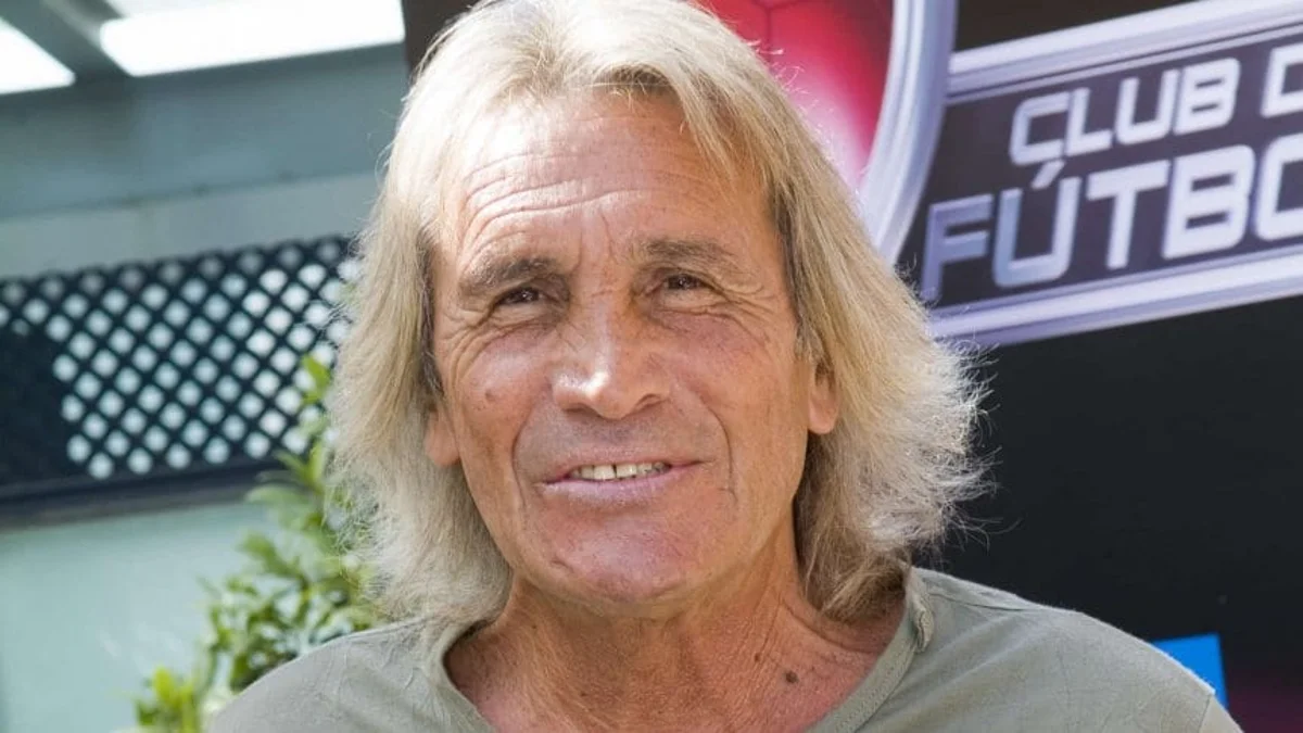 Hugo Gatti fue arquero de Boca en los viejos nacionales.