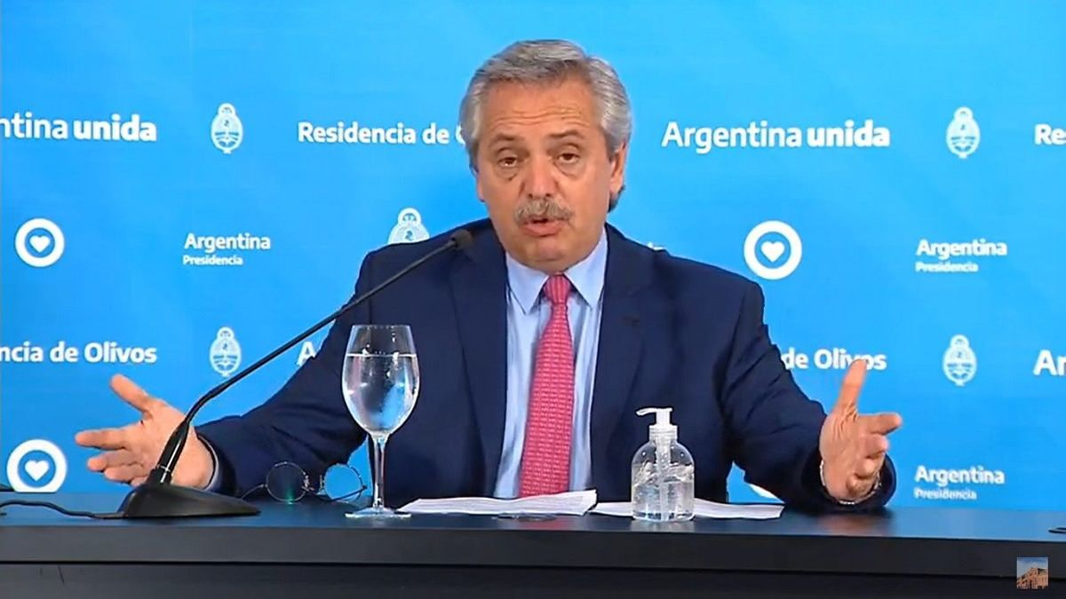 Alberto Fernández: No vamos a terminar la cuarentena, pero vamos a flexibilizarla