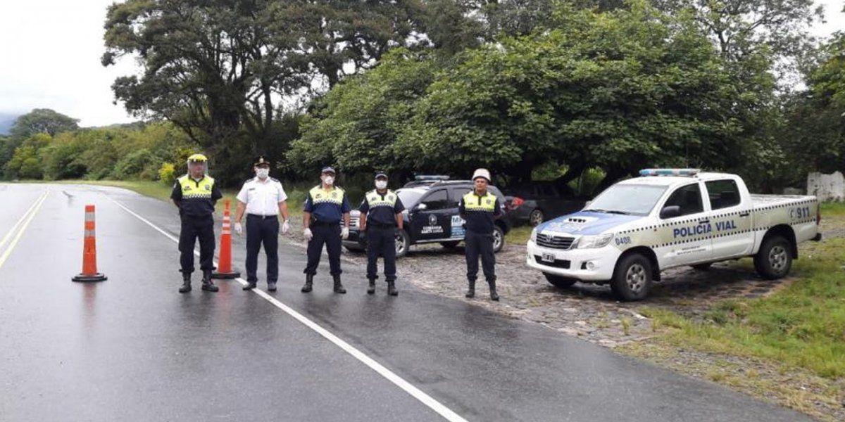 Cuarentena: habrá controles en toda la provincia por Semana Santa