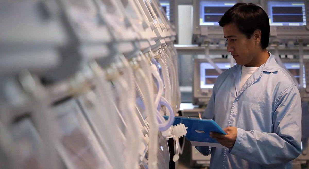 En Tucumán se podrían fabricar hasta 120 respiradores por día