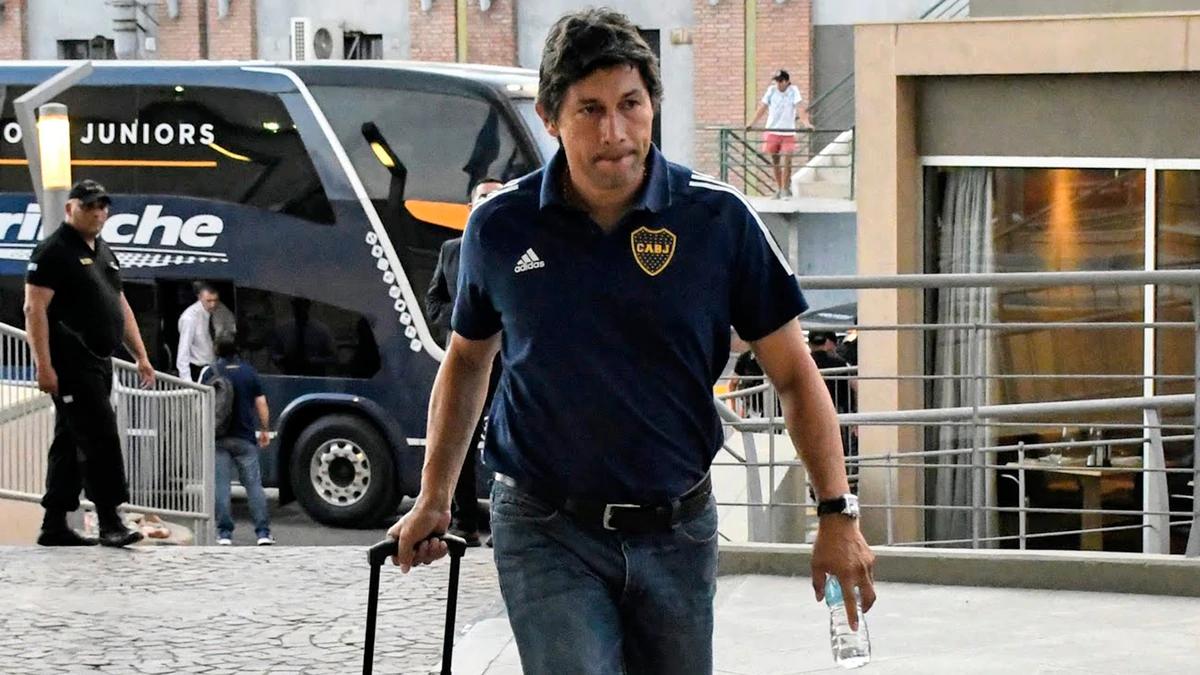 Jorge Bermúdez fue capitán de Boca cuando Bianchi era el técnico del equipo.