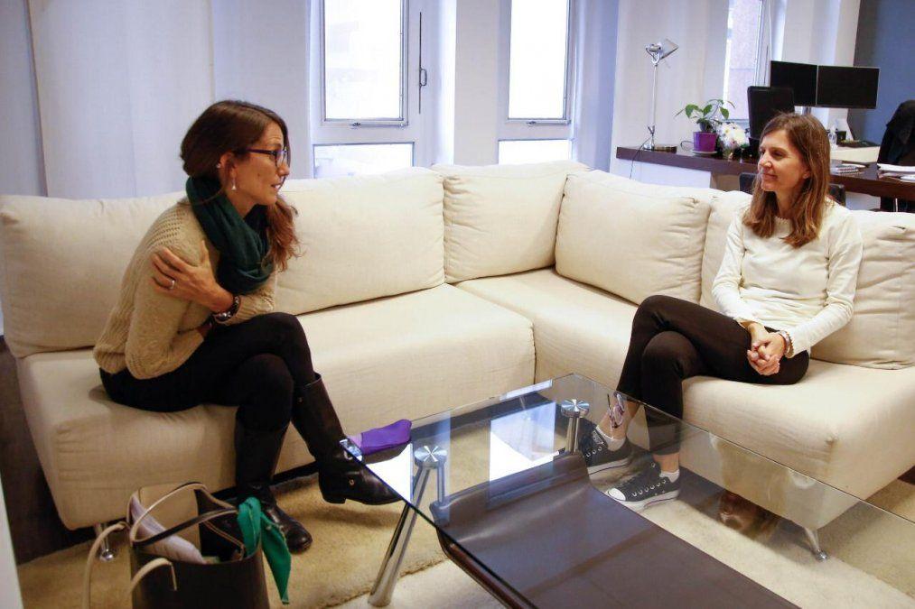 Fernanda Raverta y Elizabeth Gómez definieron una agenda común