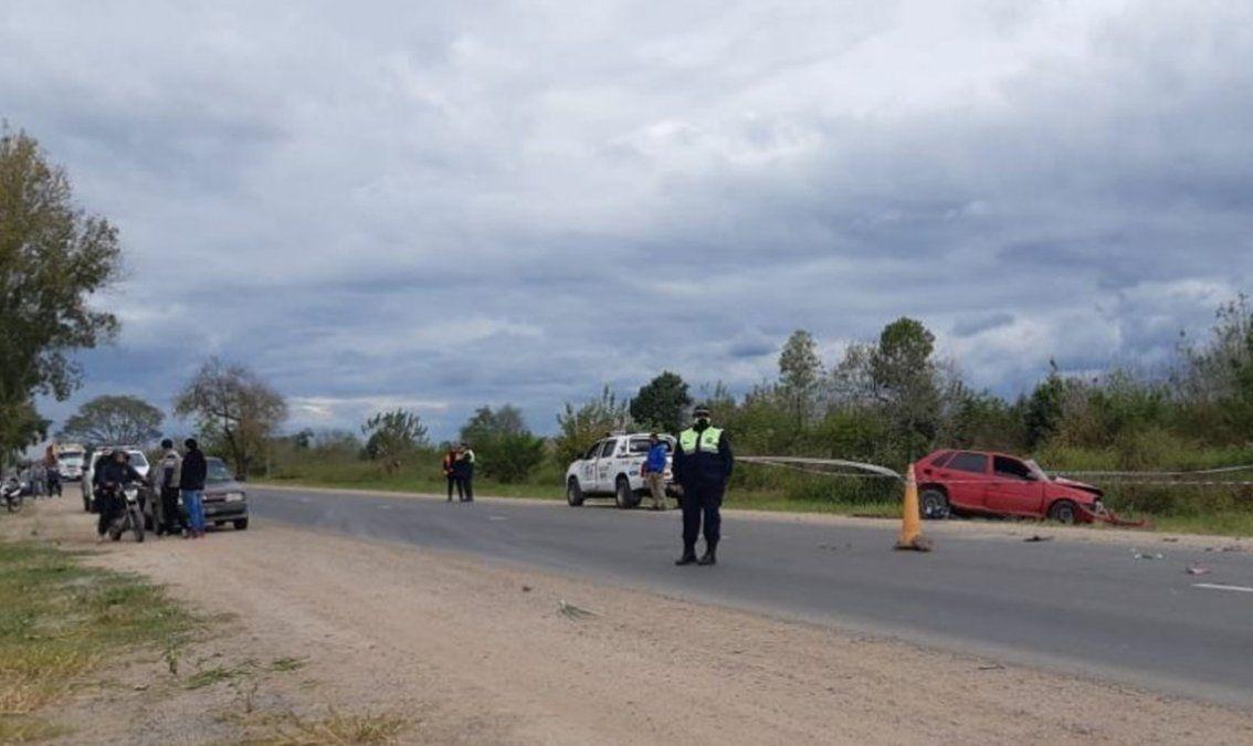 Accidente fatal: fallecieron dos personas en la ruta 157