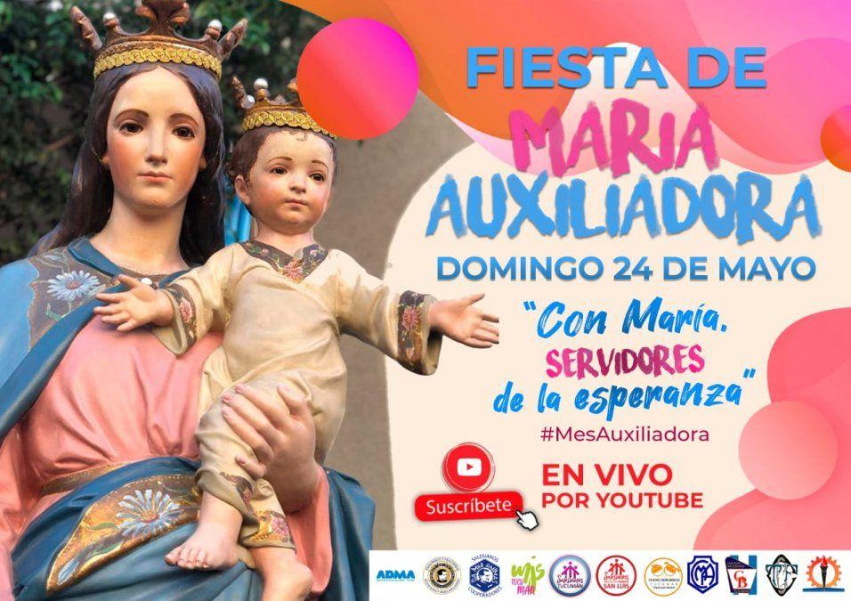 La fiesta de María Auxiliadora se traslada a los hogares