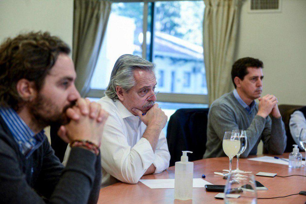 Alberto Fernández habló con gobernadores de provincias con más casos
