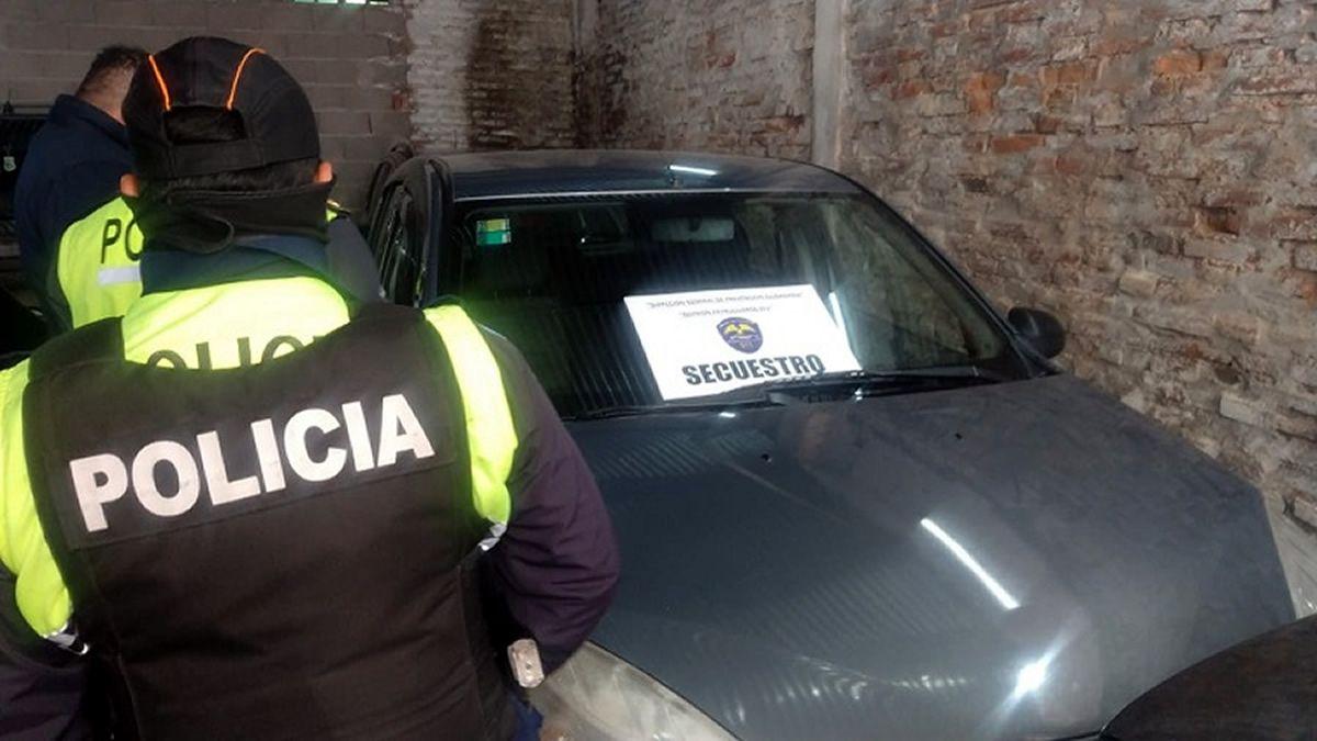 Secuestran un auto que era utilizado para cometer delitos