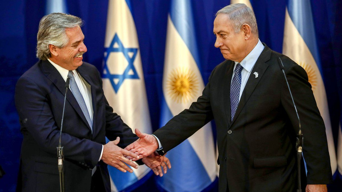 Alberto Fernández mantuvo una conversación con Netanyahu