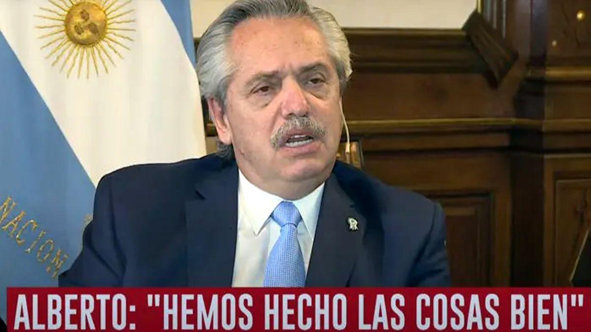 Fernández: El impuesto a las grandes fortunas en verdad es un importe único