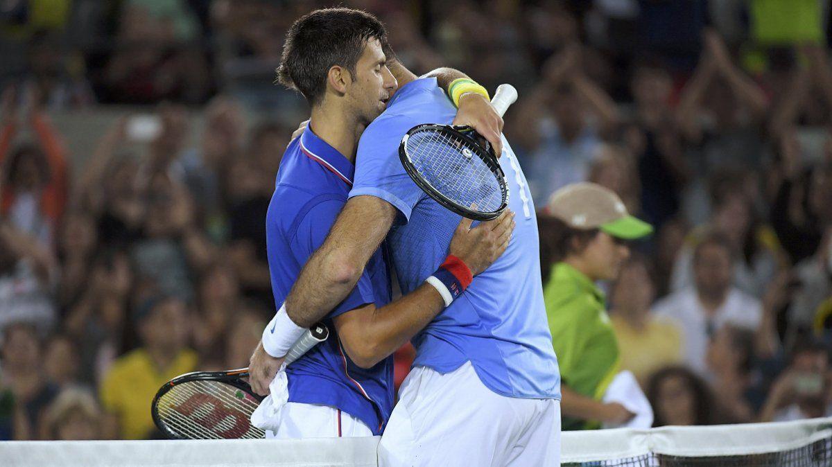 El día que Juan Martín Del Potro desconsoló a Novak Djokovic