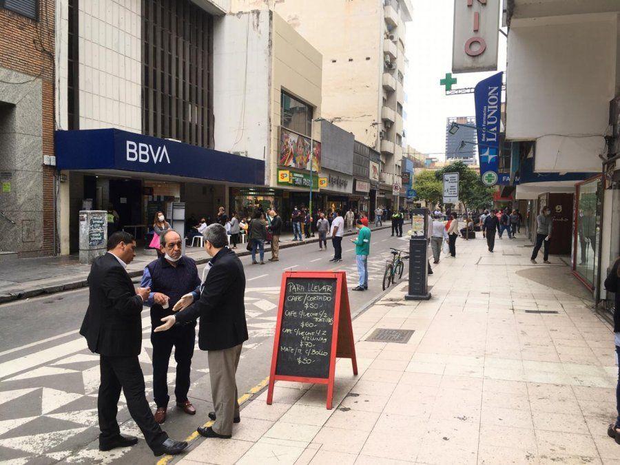 Tucumán ingresó en una nueva etapa de flexibilización. Foto La Gaceta - Inés Quinteros Orio