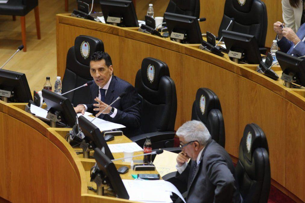 Gerónimo Vargas Aignasse subrayó la importancia de la nueva ley. Foto @LegisladoresT