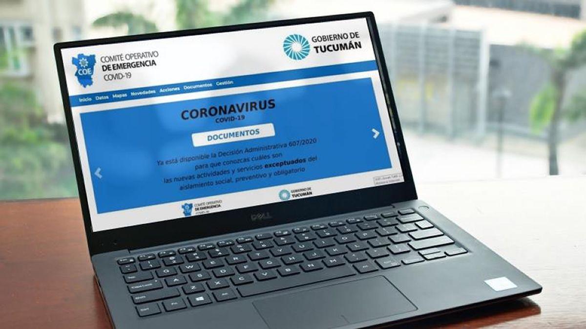 Permiso de circulación que emite el Gobierno de Tucumán