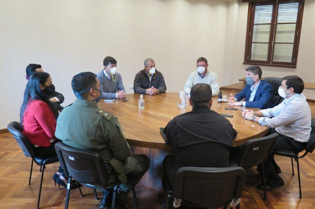 El Ministerio Fiscal se reunió con fuerzas federales