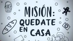 la mision quedate en casa continua solida en cuarentena