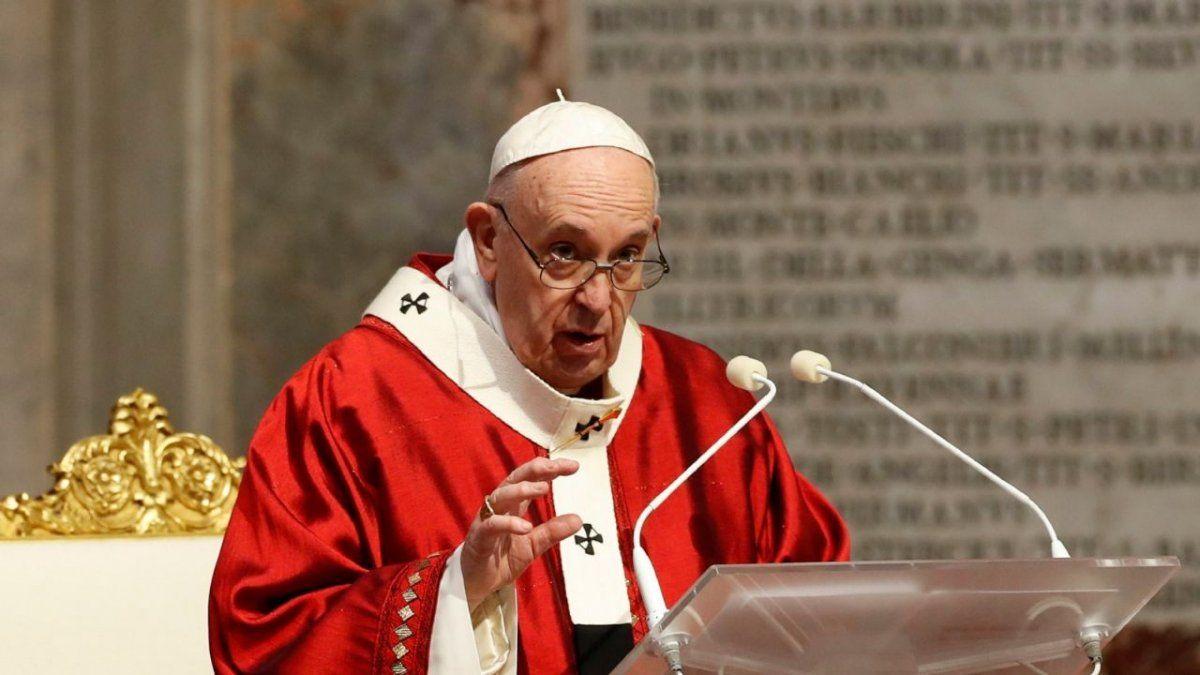 Francisco pidió terminar con la pandemia de la pobreza