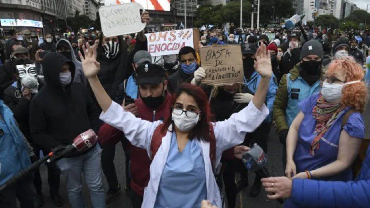 La doctora tucumana que le hizo frente a los anti cuarentena