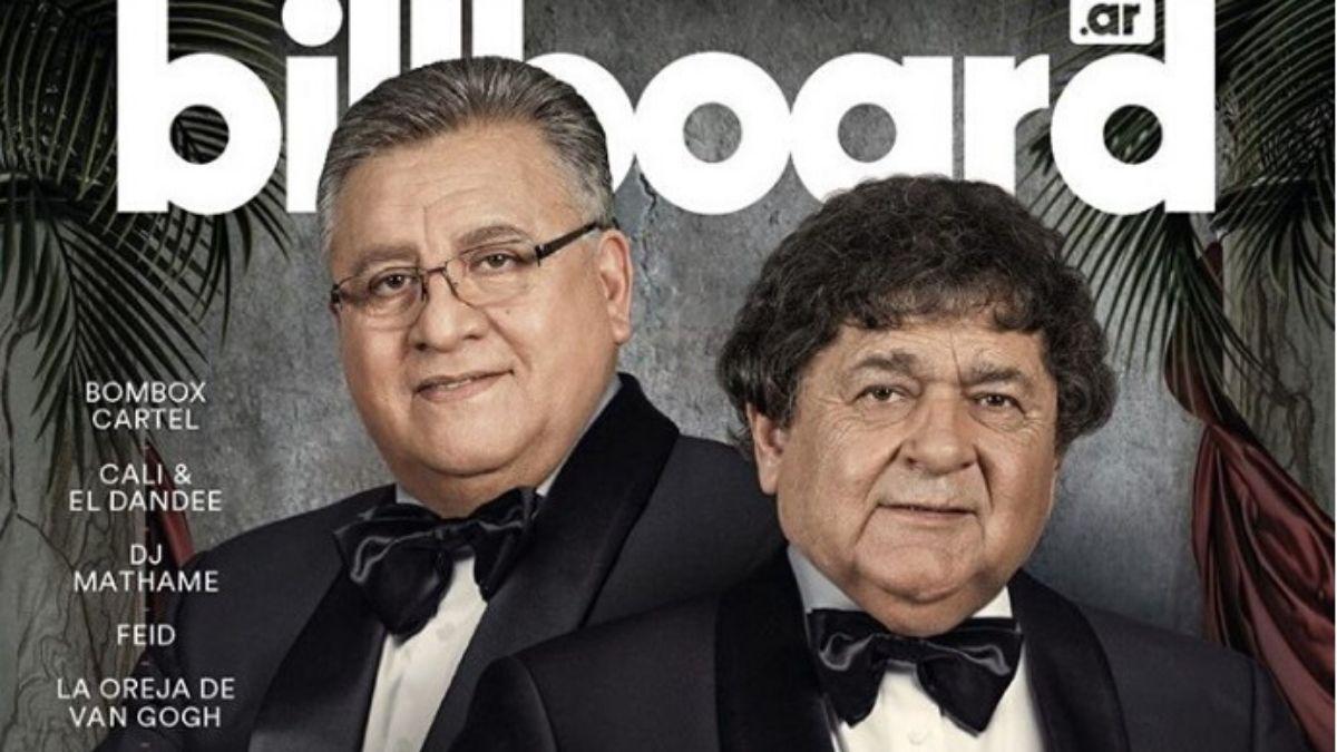 Los Palmeras, primer grupo de cumbia en la tapa de Billboard