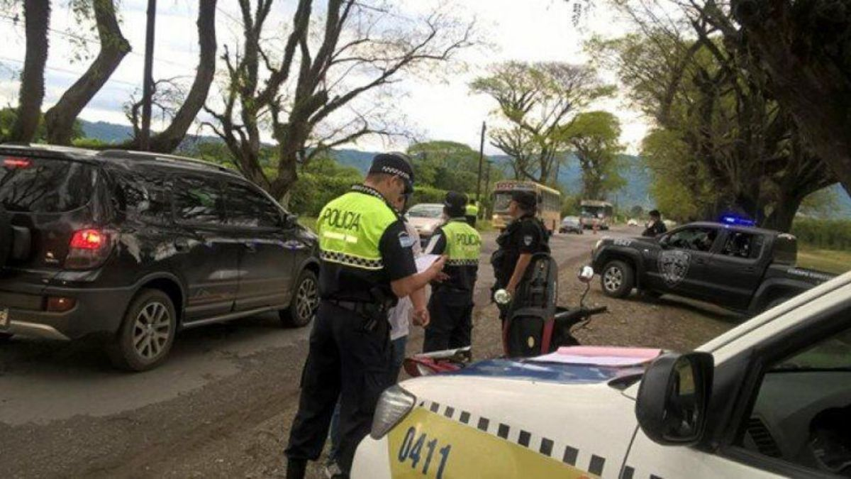 La Policía de Tucumán intensificó los controles preventivos