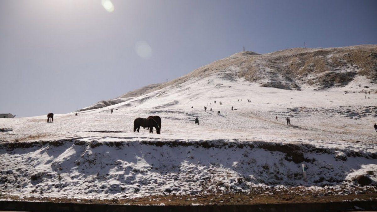 ¿Podría nevar en los valles en las próximas horas?