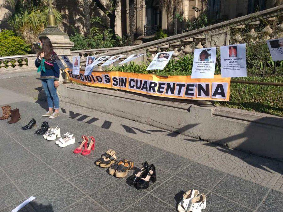 Recordaron en Tucumán el nacimiento del Ni Una Menos