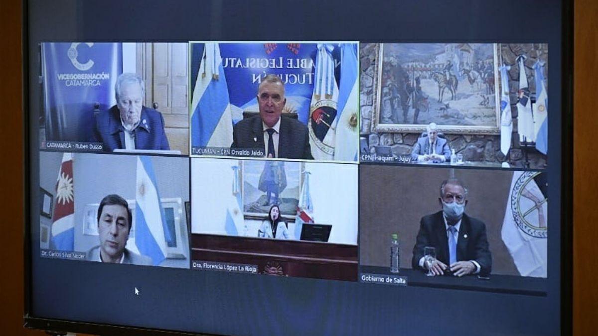 Jaldo fue elegido Presidente del Parlamento del NOA