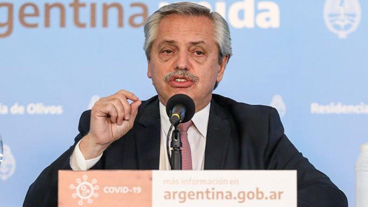 Alberto Fernández anunció una cuarentena diferenciada en el país