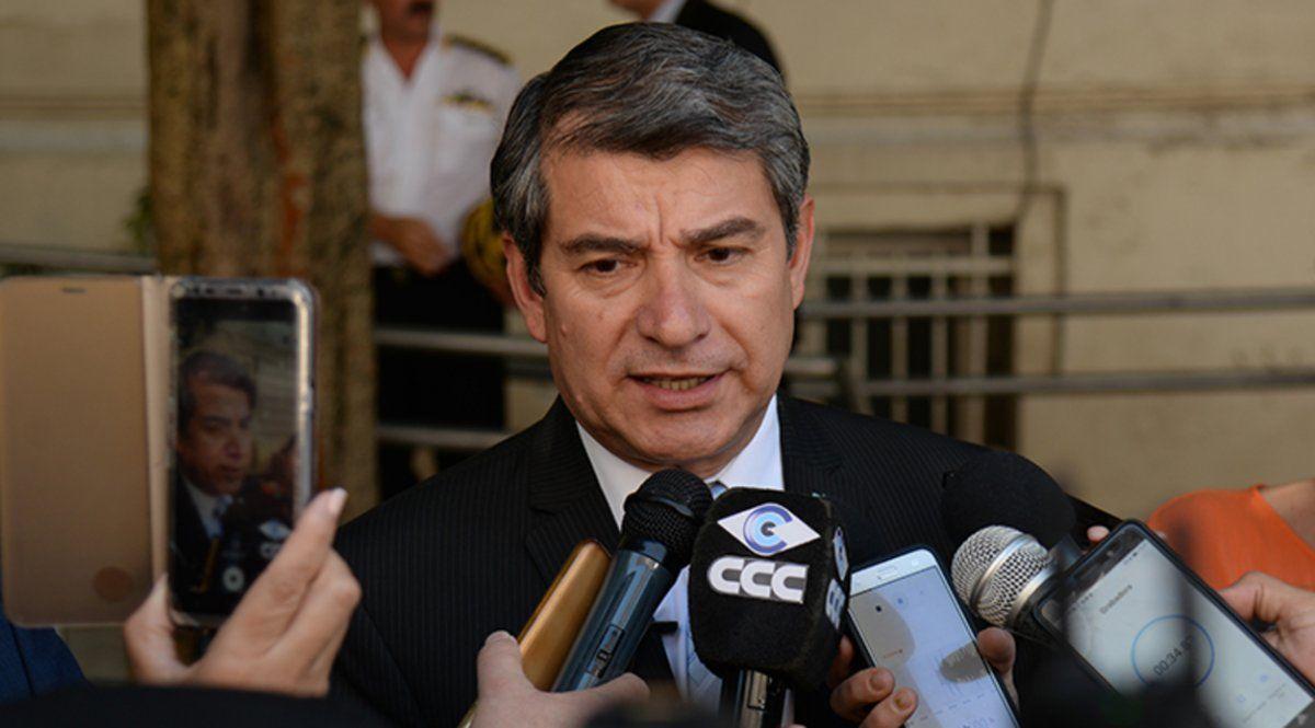 El ministro de Seguridad pidió que la Justicia llegue hasta las últimas consecuencias