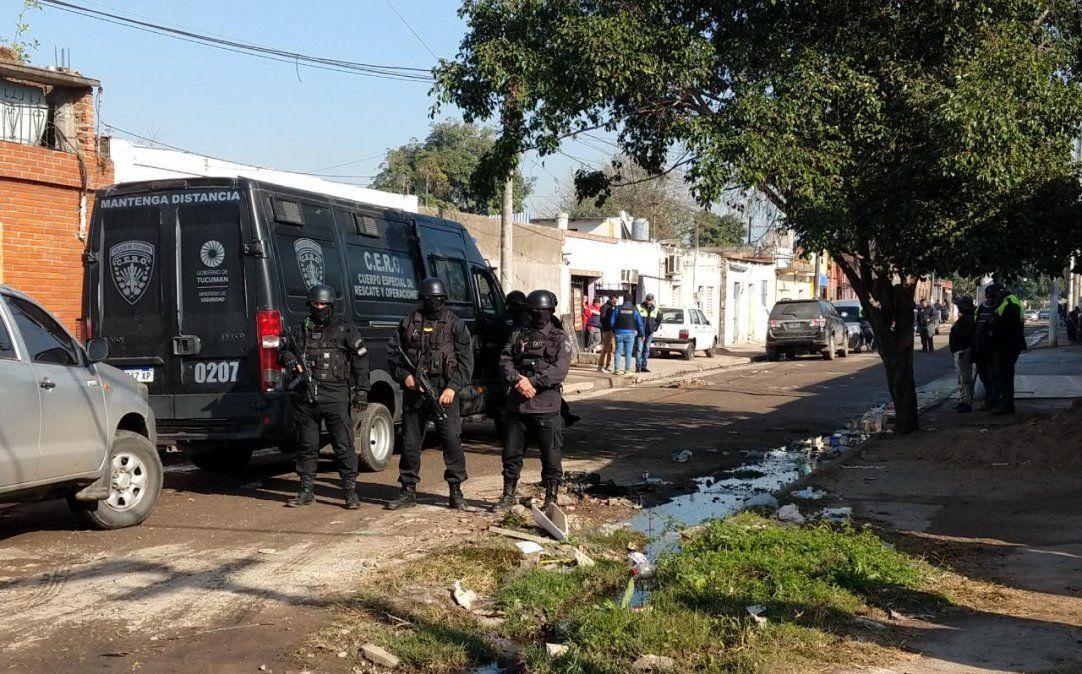 Megaoperativo en Villa 9 de Julio: detuvieron a Chicharrón y Tato