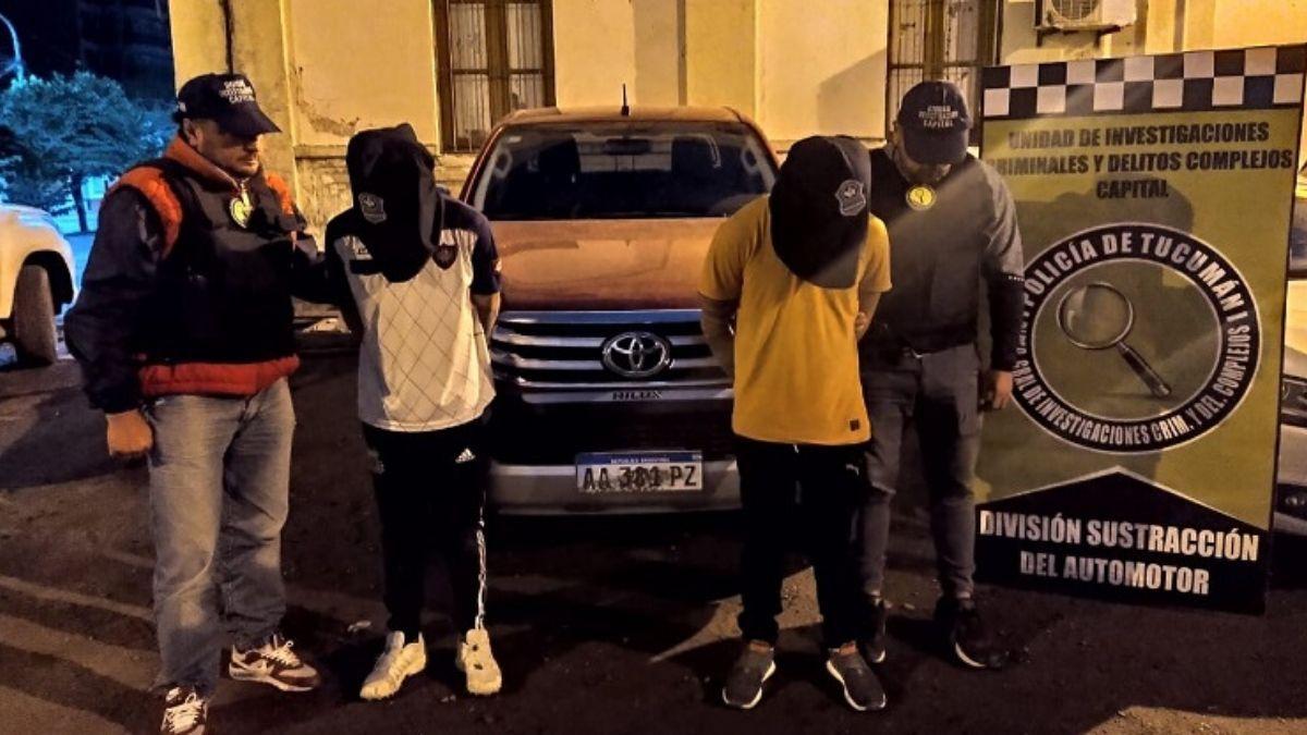 Villa Luján: cuatro detenidos por el asalto al laboratorio