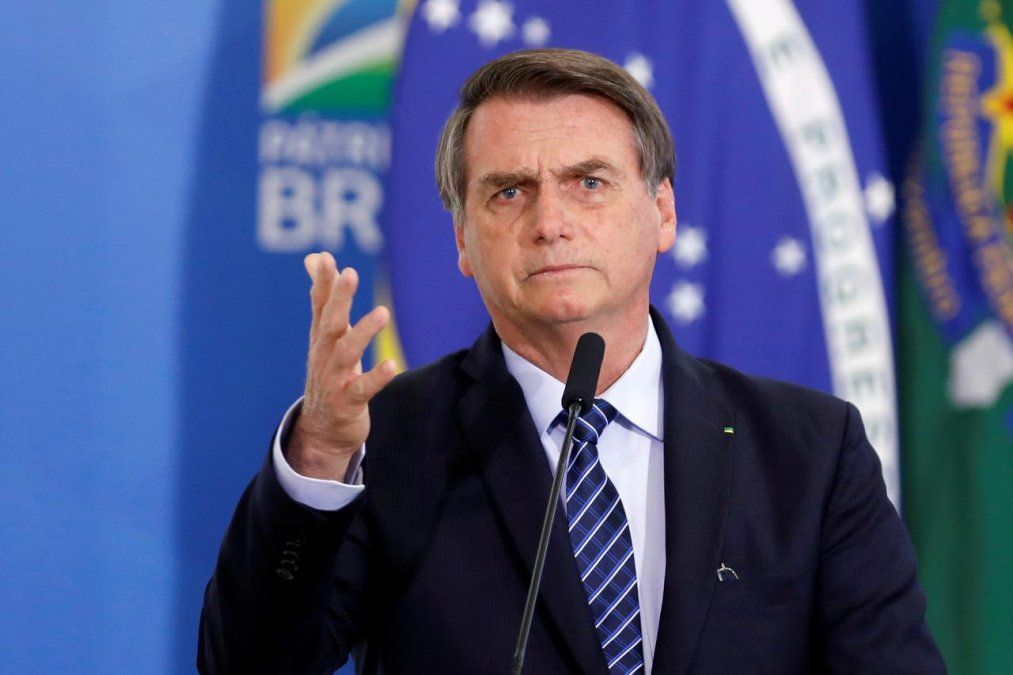 Bolsonaro analiza medidas similares a EE.UU. ante la OMS