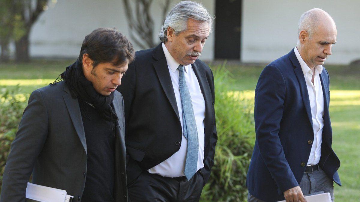 Fernández define si el AMBA regresa a fase 1