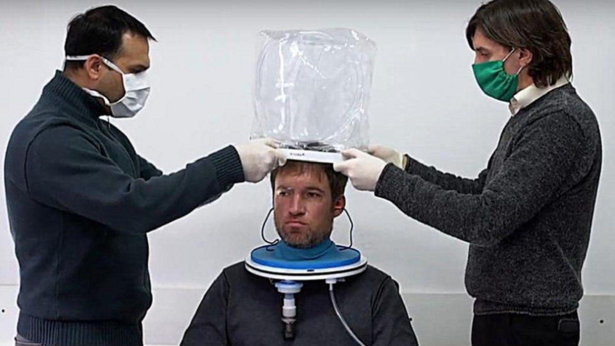 Coronavirus: ¿cómo funciona el casco de unidades selladas?