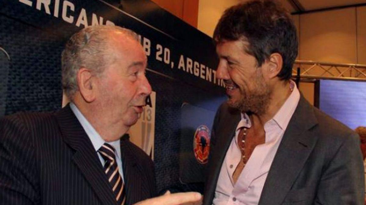 Difunden escuchas entre Julio Grondona y Marcelo Tinelli