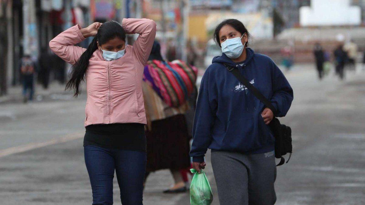 El coronavirus presenta una tendencia creciente en Bolivia