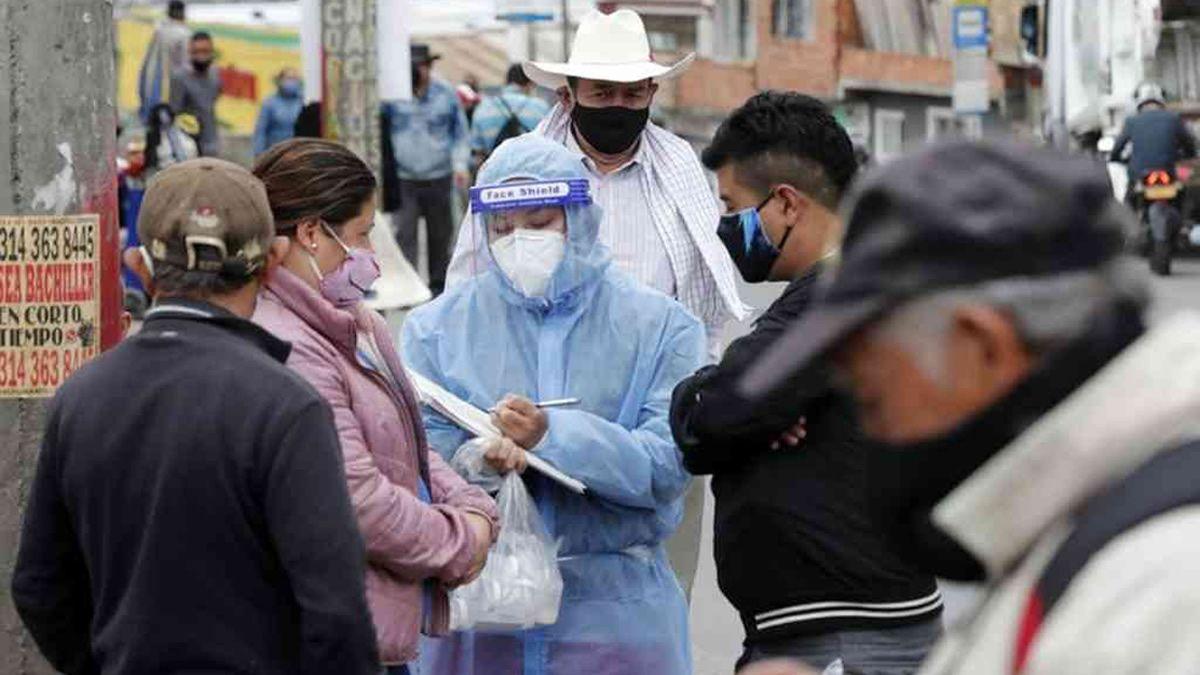 Coronavirus en Colombia: más de 95 mil casos y 3.223 muertos