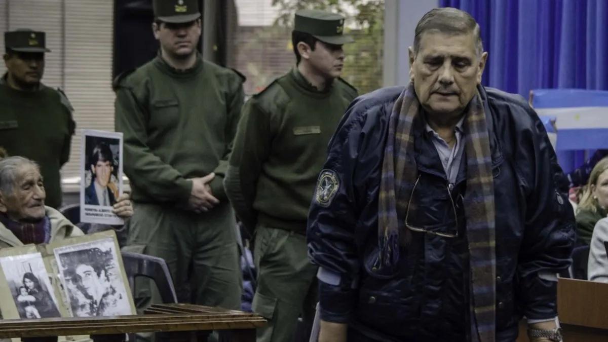 Delitos de lesa humanidad: De Cándido fue detenido por Gendarmería