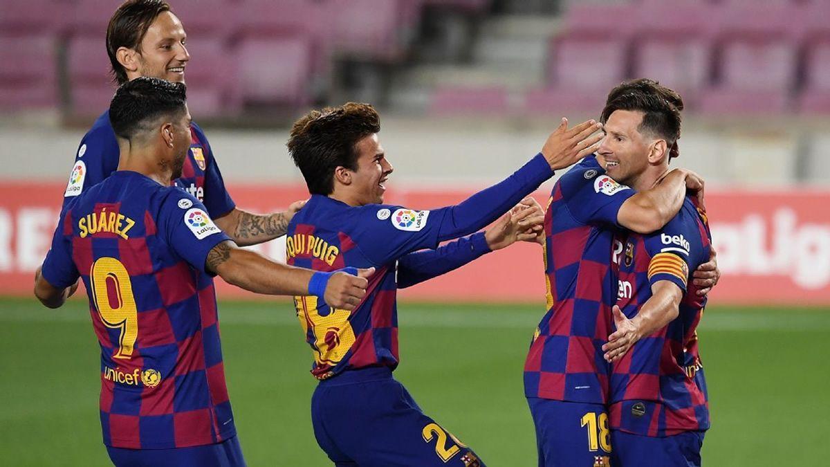 Con un golazo de penal, Lionel Messi marcó el gol 700