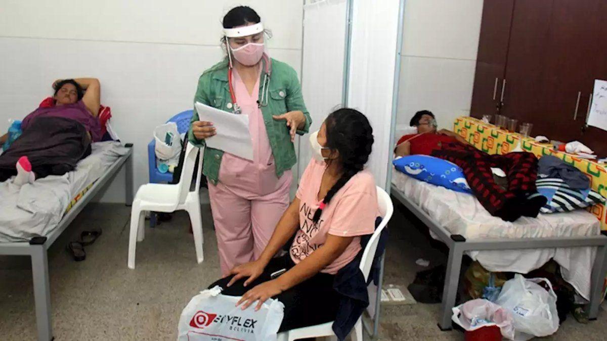 Denuncian colapso de hospitales por COVID-19 en Cochabamba